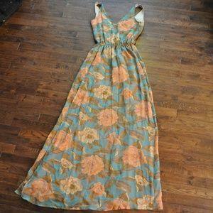 Show Me Your MuMu Floral Maxi Dress Small
